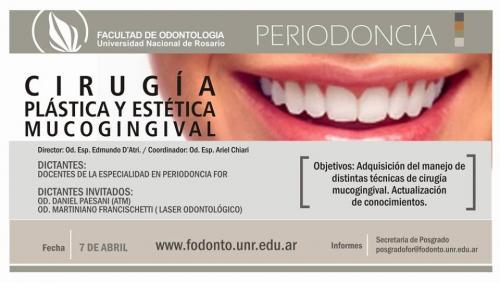 Curso de Actualziacion Universidad NAcional de Odontologia de Rosario